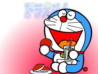 Cinta jangan seperti Nobita, yang mudah menyerah, jangan pula seperti Giant, yang suka memaksa, tapi biarlah seperti Doraemon, yang dipenuhi dengan keajaiban