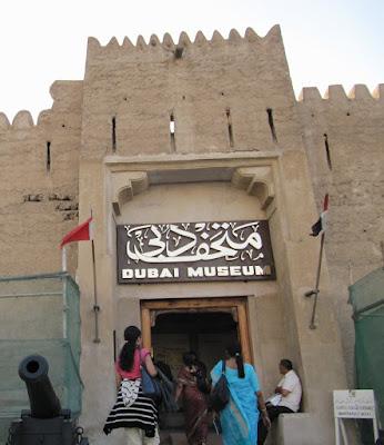 dubai museum, museo de Dubai