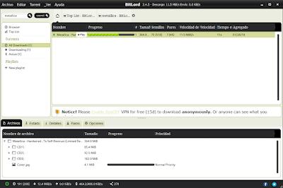 Un gestor de torrents más que válido y con un eficaz buscador integrado