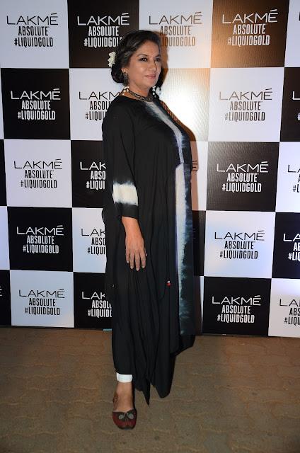 Shabana Azmi In Anita Dongre At Anita Dongre's LFW 2017 Grand Finale
