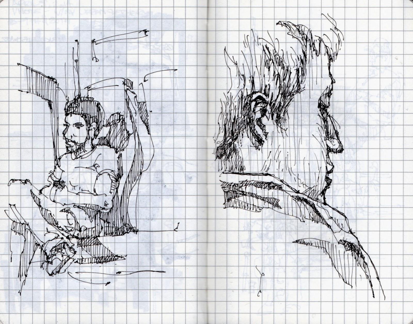 New York City Urban Sketchers: West Village And The MET