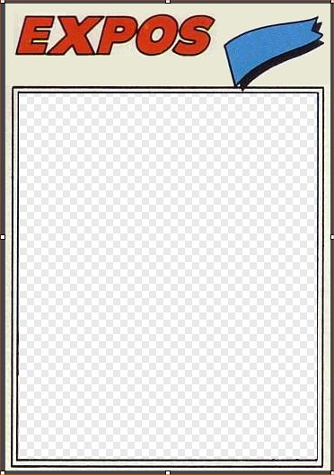 1977 Baseball Cards Update Creating Templates For
