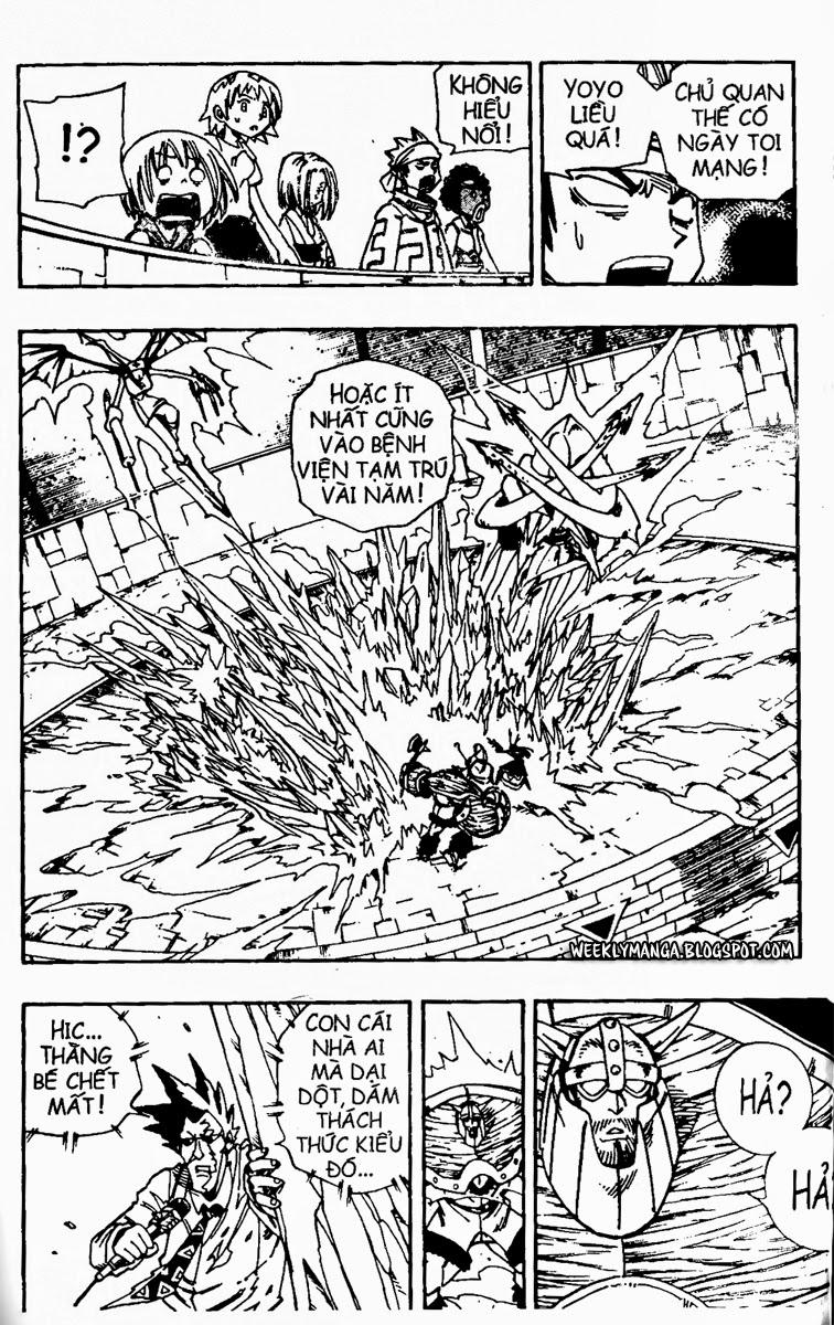Shaman King [Vua pháp thuật] chap 133 trang 14
