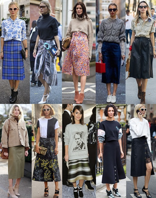 87bd214d64 Now that you know how to wear this look, I have put together an edit of the  best midi skirts from both the luxury and high street market.