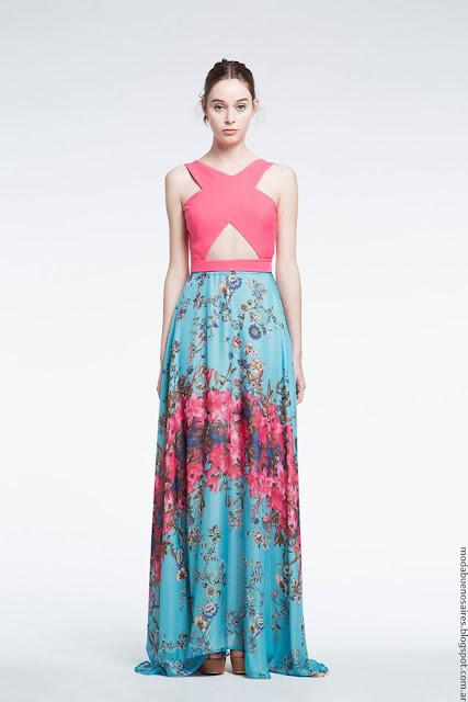 Vestidos de fiesta verano 2017 ropa de moda Natalia Antolin.