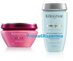 Logo Kerastase: campioni omaggio e chek-up gratuito