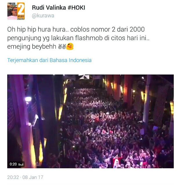 Malu Bangeet! Ahoker Klaim Peserta Flashmob 2000 Orang di Twitter, Jadi Bulan-bulanan Bahan Tertawaan Netizen