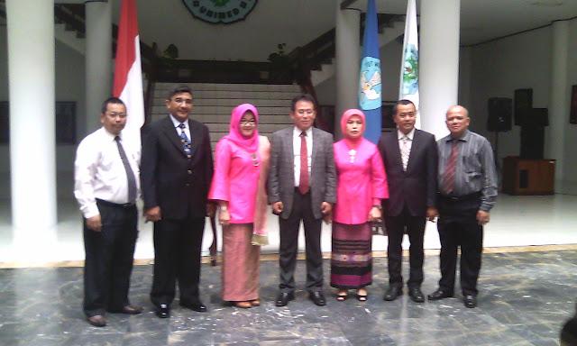 Syawal Gultom Lantik 4 Dekan Prodi Unimed