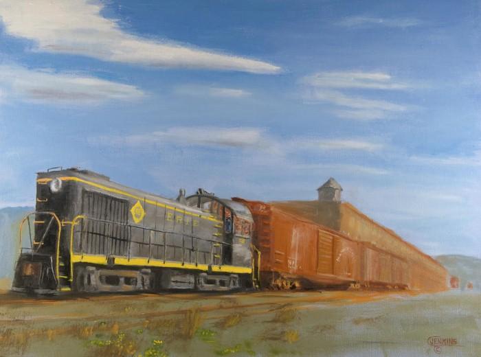 Железнодорожные картины. Christopher Jenkins 3