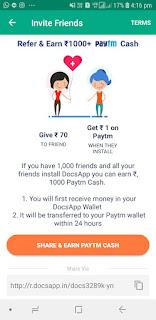 Online earn money refer app