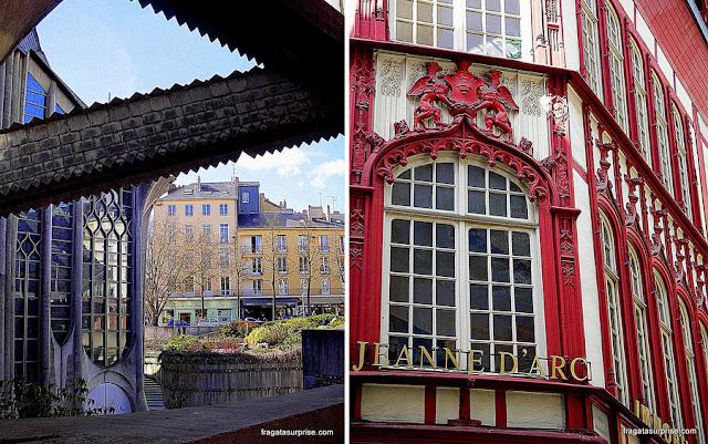 Igreja de Santa Joana D'Arc, Rouen, França
