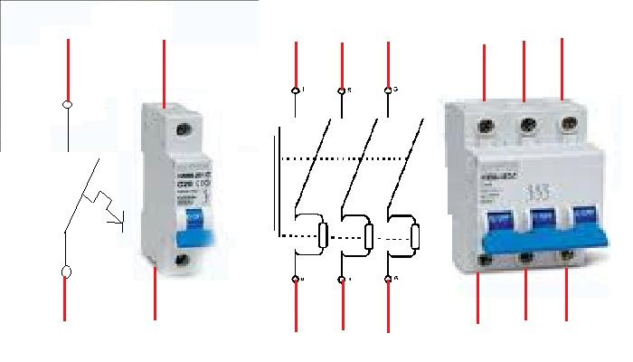 penjelasan simbol  gambar komponen listrik yang digunakan