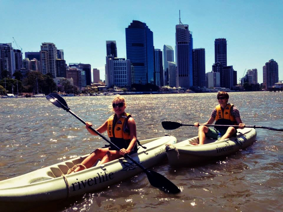 brisbane river kayaking