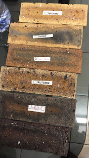 South African bricks samples