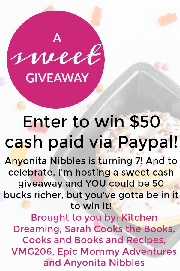 Anyonita Nibbles | Gluten Free Recipes : Win $50 Cash Today