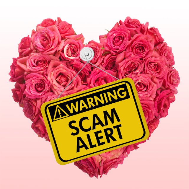 Don't get scammed on Valentine's Day