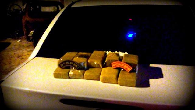 Polícia apreende grande quantidade de droga na Barra dos Coqueiros