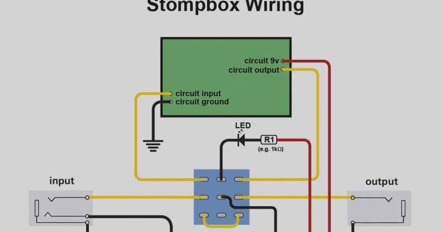 Led Wiring Diagram Pedal - Diagrams Catalogue