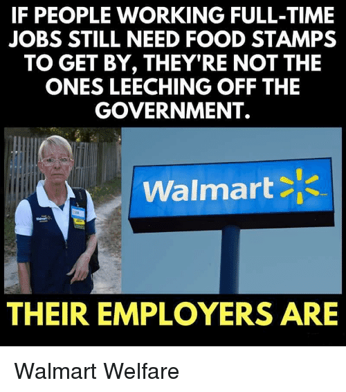 84d19f3854a ... attention to poverty wages that are forcing Walmart workers to collect  food stamps