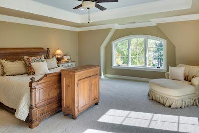 แบบห้องนอนคันทรี่