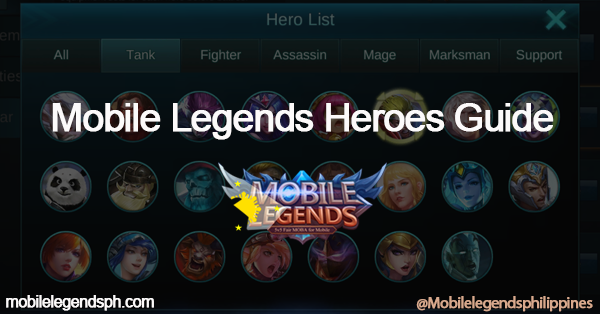ML Heroes Guide - Mobile Legends Heroes Guides