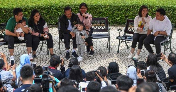 Jokowi Berlibur Bareng Keluarga Diliput Wartawan, Fadli Zon: Liburan atau Sinetron Keluarga?
