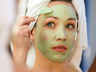 Application of face mask