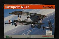 Photos de la maquette d'Eduard du Nieuport 17 au 1/48.