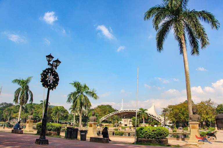 Rizal Park in the morning - Open Auditorium