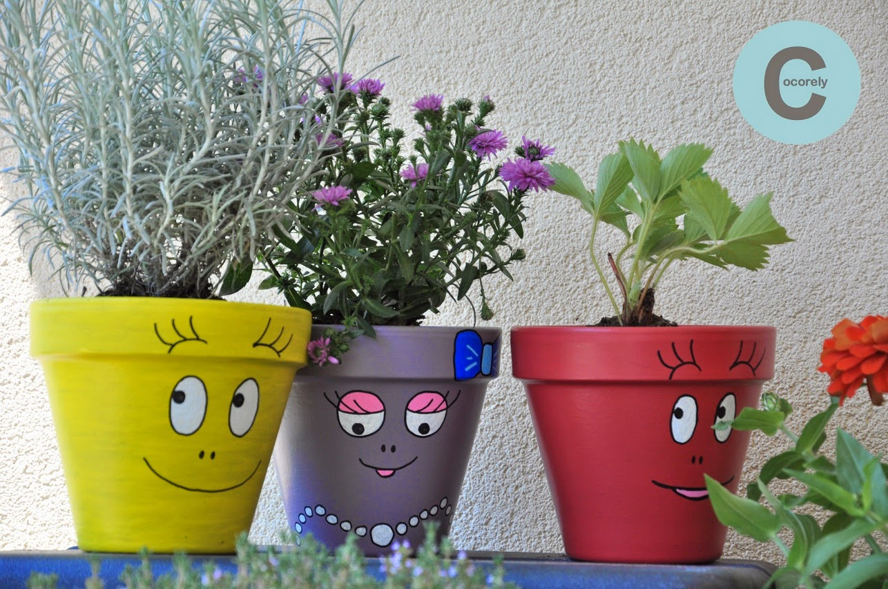 Comment Peindre Des Pots De Fleurs En Terre Cuite