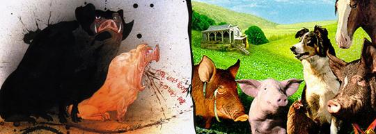 Rebelión en la granja, de George Orwell y John Stephenson - Cine de Escritor