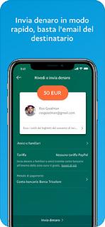 PayPal, l'app si aggiorna alla vers 7.3.1