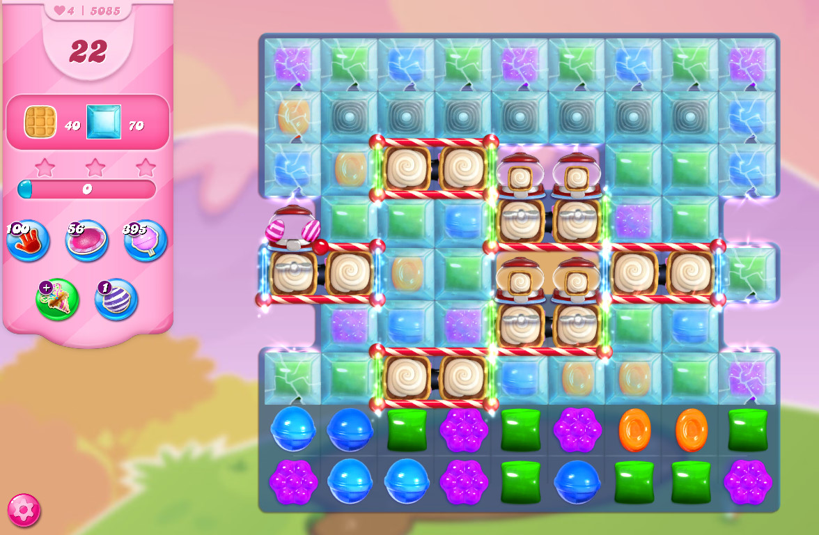 Candy Crush Saga level 5085