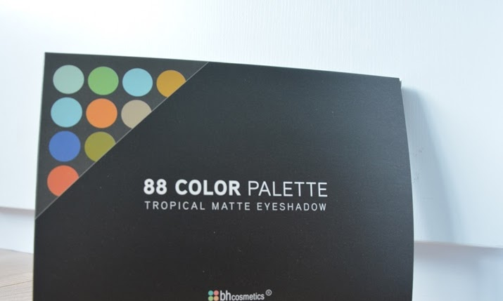 88 Colour Palette Tropical Matte Eyeshadow by BH Cosmetics