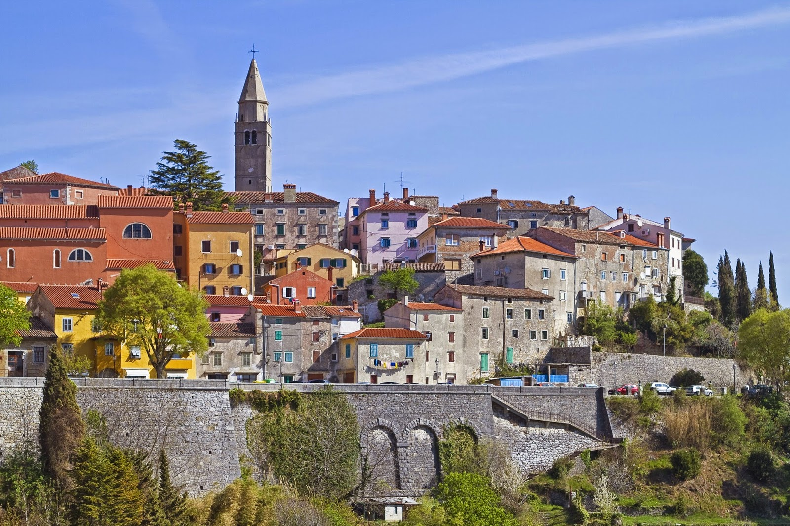 labin istria croatia road trip travel guide