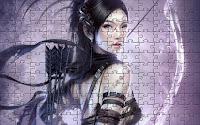 Fantasy archer girl
