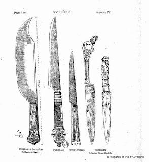 couteaux du 15 è siècle