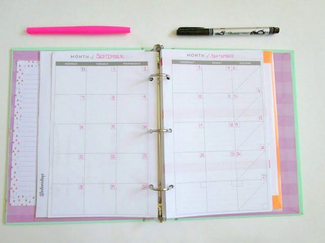 DIY Personalized Academic Planner for under $20