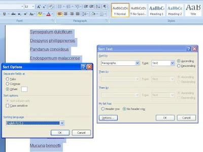 Cara Urutkan Daftar Nama Berdasar Abjad di Microsoft Word