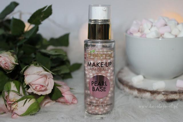 Żelowo-perłowa baza pod makijaż BIELENDA MAKE-UP ACADEMIE PEARL BASE - moja opinia