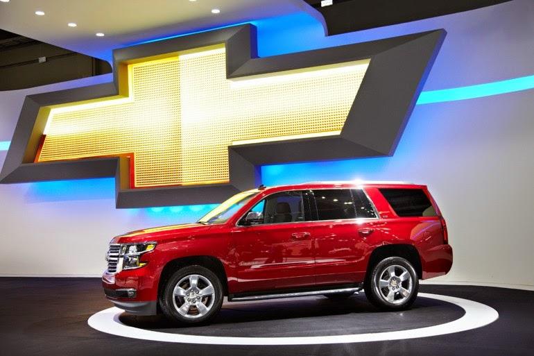 Chevrolet Tahoe-2015 модельного года