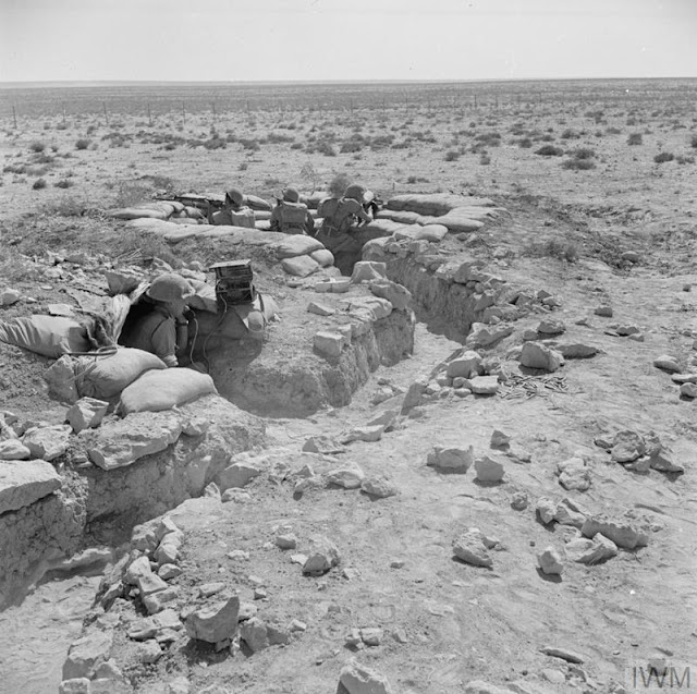 Australian soldiers on the front line at Tobruk, 13 August 1941 worldwartwo.filminspector.com