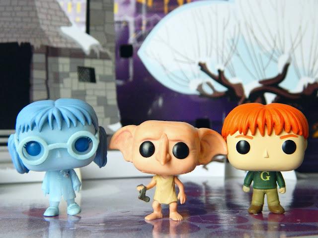 Funko Pocket Pop! Moaning Myrtle, Dobby, George Weasley