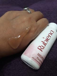Review Rubiena Cleansing Lotion dan Facial Wash yang Membuat Wajah Lebih Cerah LEMARIPOJOK