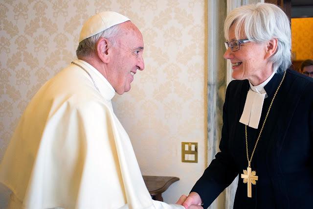 Demi Rekonsiliasi, Paus Fransiskus Hadiri Perayaan 500 Tahun Gereja Protestan
