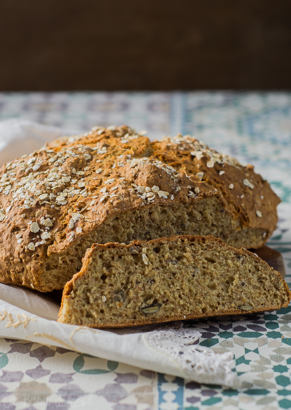 Pan de soda con semillas | Irish soda bread