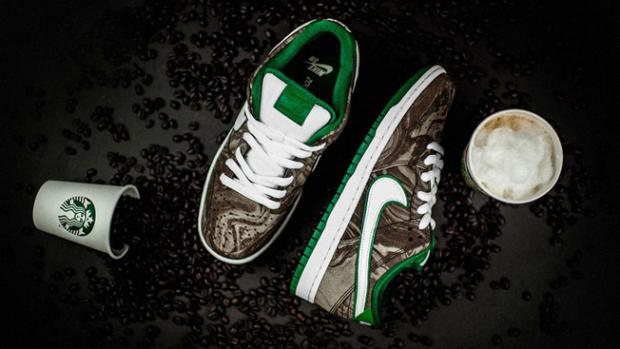 Las zapatillas Starbucks de Nike