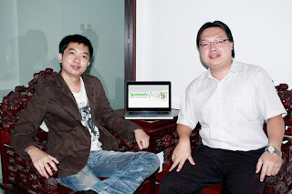 Foto William Tanuwijaya Bersama Leontinus Alpha Edison