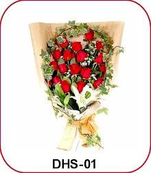 Karangan Bunga Handbouquet Blok m
