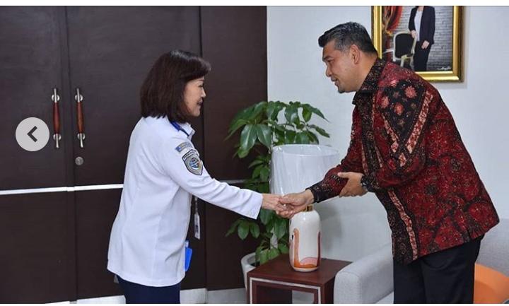 Wali Kota Fasha Mengunjungi Direktorat Jenderal Perhubungan RI